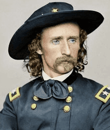 George Custer led 600 men at the time of the battle