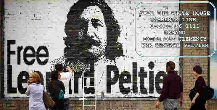 advocates push for peltier to be released