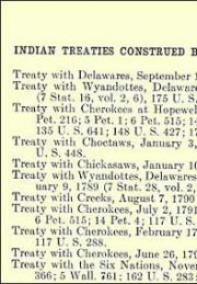 indian treaties were regularly violated by the US